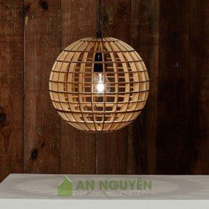 Đèn Gỗ Đèn thả trần trang trí bằng gỗ tphcm