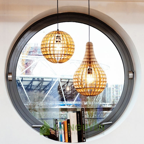 Bán đèn gỗ trang trí giá rẻ ở TPHCM