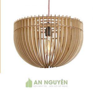 Đèn thả gỗ trang trí ở TPHCM giá rẻ