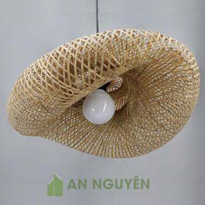Đèn Mây Tre: Mẫu đèn mây tre đan nghệ thuật trang trí phòng khách