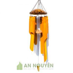 Chuông Gió: Mẫu chuông gió tre trúc gáo dừa trang trí nhà cửa làm quà lưu niệm
