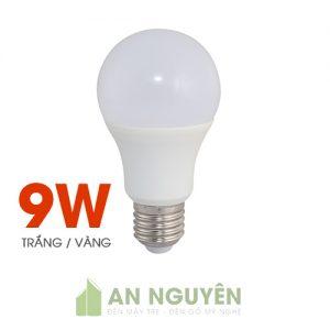 Bóng Đèn: Bóng bulb 9W ánh sáng vàng, trắng