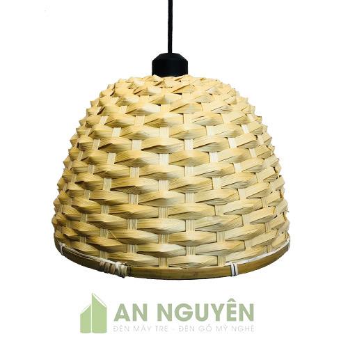 Đèn Mây Tre: Mẫu đèn nan tre đan trang trí quán ăn truyền thống