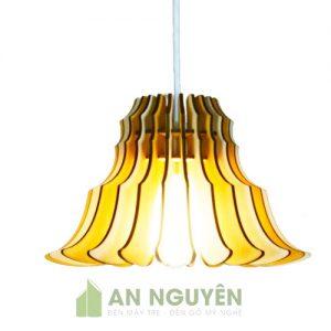 Đèn Gỗ: Mẫu đèn gỗ thả trần trang trí không gian nhỏ