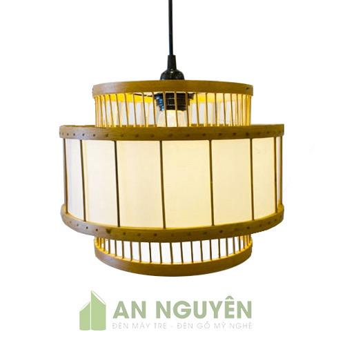 Đèn Mây Tre: Mẫu đèn tăm lồng vải trang trí nhà hàng sang trọng
