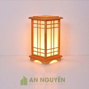 Đèn Gỗ: Mẫu đèn gỗ để sàn, để bàn trang trí bằng gỗ thật