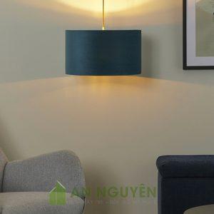 Đèn Vải: Mẫu đèn vải hình trụ tròn một màu giá rẻ có nhiều màu để lựa
