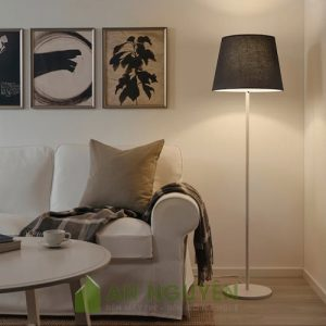 Đèn Vải: Chụp đèn vải đèn cây phòng ngủ hình chóp cụt trang trí